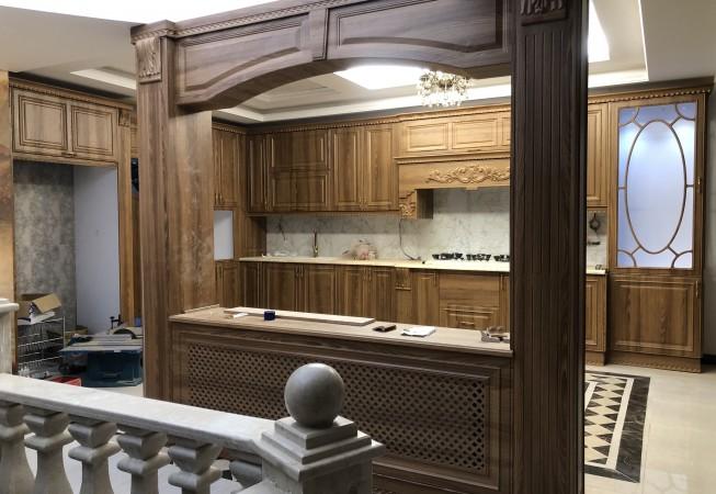 طراحی واجرا کابینت کلاسیک ممبران