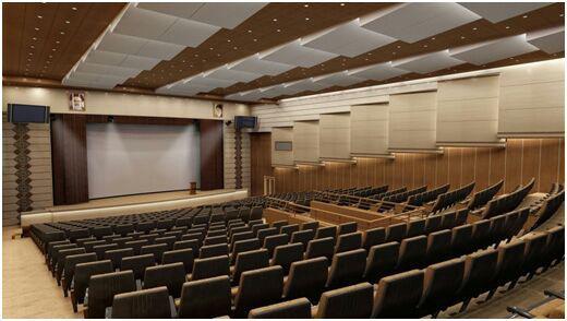 نسبت های قسمت تماشاگران ،فضاهای خدماتی پشت سن ،ساختار عمومی فضاهای نمایشی